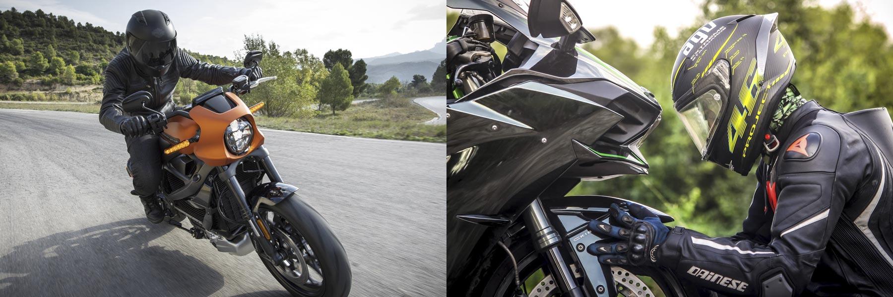 Reparation af motorcykeludstyr